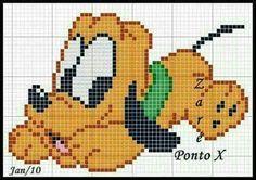 ideas for crochet baby disney punto croce Cross Stitch Baby, Cross Stitch Charts, Cross Stitch Patterns, Crochet Disney, Crochet Baby, Crochet Cross, Cross Stitching, Cross Stitch Embroidery, Pixel Crochet Blanket