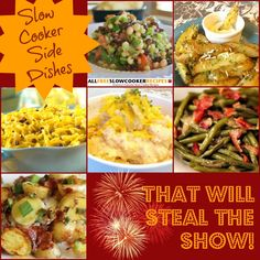 Show-Stealing Side Dishes: 20 of the Best Slow Cooker Side Dish Recipes | AllFreeSlowCookerRecipes.com