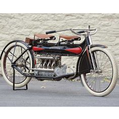 Rare 1912 Henderson Four - Classic American Motorcycles - Motorcycle Classics