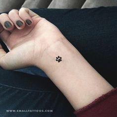 14 Οκτ 2019 - Pet Paw Temporary Tattoo (Set of – Small Tattoos Old Women With Tattoos, Delicate Tattoos For Women, Simplistic Tattoos, Pug Tattoo, Tattoo Diy, Mini Tattoos, Small Tattoos, Tribal Tattoos, Tattoos Skull