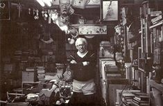 Комната американского писателя-фантаста Рэя Брэдбери.