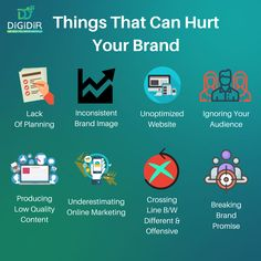 Focus on building the best possible business. If you are great, people will notice and opportunities will appear. Digital Marketing Services, Online Marketing, Financial Peace, Growing Your Business, Business Tips, It Hurts, Logo Design, Branding, How To Plan