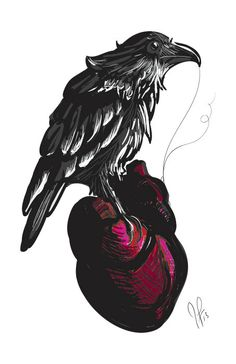 The Telltale Raven by RoanHollow on Etsy, $12.00