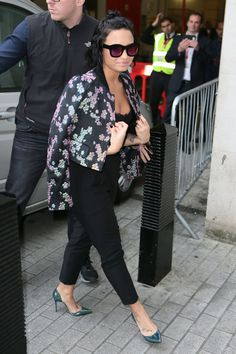 Demi Lovato in Louboutins! Talented and beautiful!