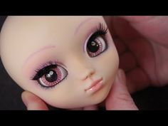 BJD - Plastic Doll Kit. Link to How to Make Your Own Pullip Doll - MIO Kit [Junky Spot] U-Tube