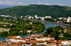 High above Vienne on tour with Viking River Cruises
