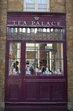 Tea Palace Covent Garden, London
