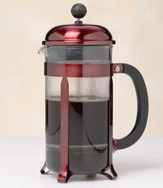 French press for simply the best coffee