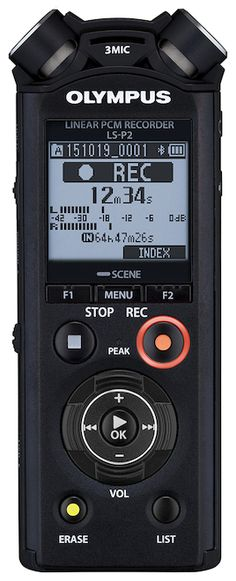IC RECORDER [OLYMPUS LINEAR PCM RECORDER LS-P2] | Complete list of the winners | Good Design Award