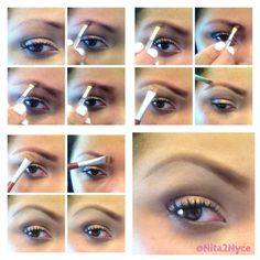 Ok.. Mini brow tutorial for all who have been asking .. First...