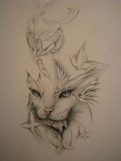 cereja tattoo 3d - Pesquisa Google. A lioness would be more my style