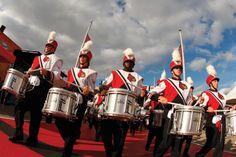 Louisville Cardinal marching band. :)