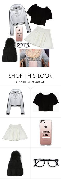 """""""▪️◻️▪️"""" by julianae101 on Polyvore featuring Puma, Max&Co., Milly and Casetify"""