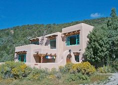Taos House Rental: Best Of Taos- 'retreat At Rancho Canyon' | HomeAway