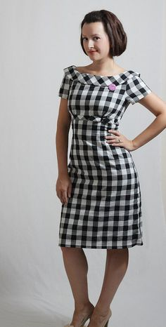 Super awesome retro dress.
