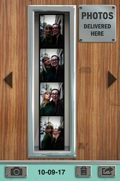 Pocketbooth app.   Fun!!