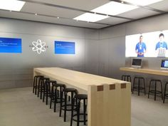 I am completely in love with the idea of us having 23 genius bar, where you can come in from the street and get help with you 23video site - we just need to make it look better then apple!