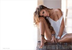 Romantic and sensual boudoir photography for the groom as a wedding gift or just for fun