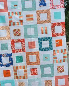 Variation of Orange Quilt Pattern: Cluck Cluck Sew