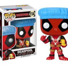 Funko Pop! Marvel Deadpool Bathtime Rubber Ducky #114 (Target Exclusive!) RARE!