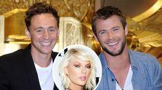 Chris Hemsworth Says Tom Hiddleston Looks Happy With Taylor Swift