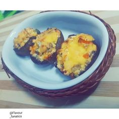 Stuffed Mushrooms recipe by Aqueelah Hadia