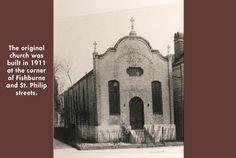 The original church in 1911 | Charleston South Carolina