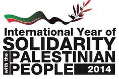 Ano da SOLIDARIEDADE PALESTINA!!! #SOLIDARITY #PALESTINIANPEOPLE