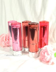 Essence Sheer & Shine Lipstick Review & Swatches!*
