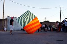 The street art of Maser: a pulsating universe of color