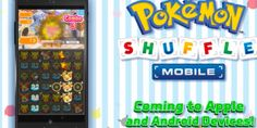 Pokémon Shuffle mobile app finally hit iOS and Android