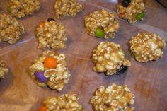 Peanut Butter Popcorn Balls. Photo by Queen Dana