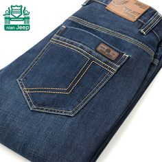 Cheap pants loose, Buy Quality pants skinny jeans directly from China jean Suppliers: NianJeep Wholesale Price Man's New Style Jeans,Original Brand Casual Cotton Straight Full Length Denim Plus Denim Jeans Men, Man Jeans, Jeans Style, Trousers, Mens Fashion, Stuff To Buy, Casual Man, Autumn, Pj