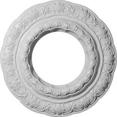 15-3/8 in. Lisbon Ceiling Medallion-CM15LI at The Home Depot  $23.81