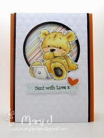 Where's my creativity?: Sent with teddy bear love x