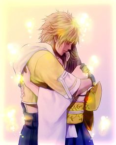 Week 10 - Final Fantasy X - Fan Art Wed - Tidus and Yuna been years since i have seen this image for ages