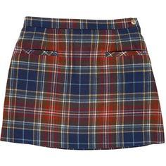 Plaid A-Line Skirt ($48) ❤ liked on Polyvore featuring skirts, bottoms, tartan skirt, knee length a line skirt, plaid a line skirt, a line skirt and tartan plaid skirt