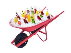 wheelbarrow cooler
