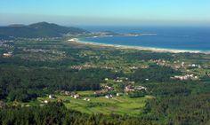 CARNOTA en la provincia de La Coruña, Galicia, España. Spain.