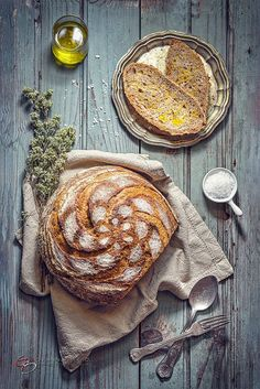 ~~My sourdough black bread with flax seeds | food photography | by Giovanna Griffo~~