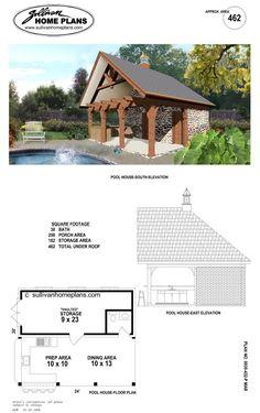 Custom Carpentry Cabanas Pool Houses Long Island Design 35