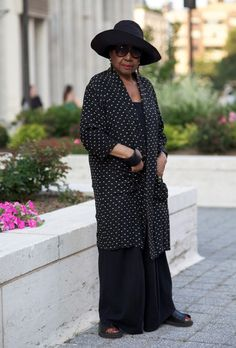 ADVANCED STYLE: Barbara at Lincoln Center