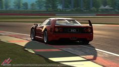 Ferrari F40 officially licensed for Assetto Corsa racing game
