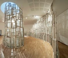 Wall of Windows - Chiharu Shiota