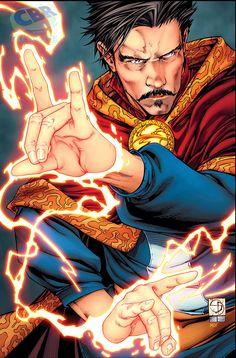 Doctor Strange: Last Days of Magic #1 cover by Shane Davis