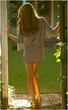 #dress, #hair #wedges