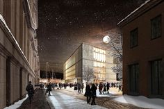 David Chipperfield unveils modified version of Nobel Center