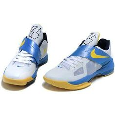http://www.asneakers4u.com/ Kevin Durant Shoes   Nike Zoom KD 4 IV  Midnight Navy Sale Price: $67.90