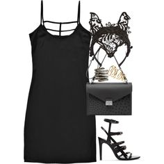 """inspired outfit for a fancy dress party"" by whathayleywore on Polyvore"