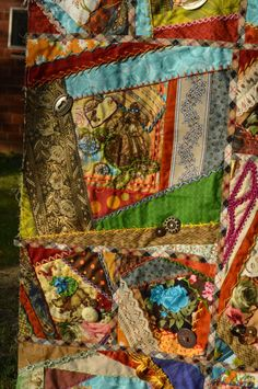 steampunk bird house  | ... Eye – Closeups of the Steampunk Crazy Quilt | Mouse in my Pocket